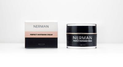 KEM DƯỠNG TRẮNG VÀ TRỊ MỤN NERMAN PERFECT WHITENING CREAM