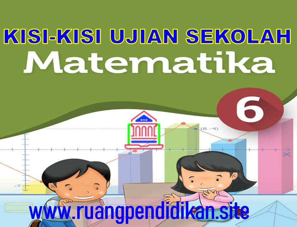 Kisi-kisi Ujian Sekolah (US) Mapel MTK