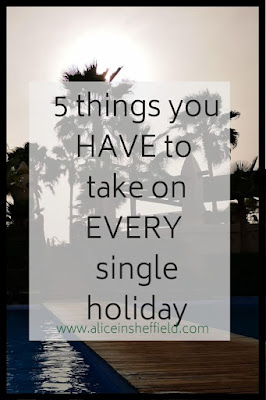 5 things to take for a stress-free holiday