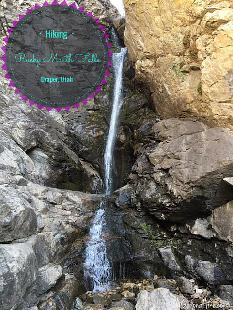 Rocky Mouth Falls, Utah, Kid friendly trails in Utah