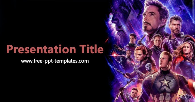 avengers powerpoint template