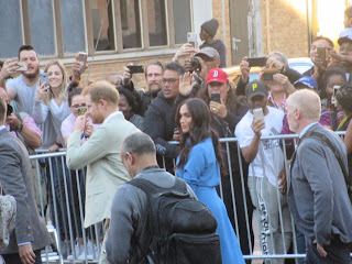 Duke and Duchess of Sussex go walkabout at District 6 Museum Cape Town