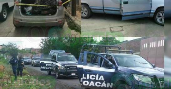 Sicarios se enfrentaban a Estatales en Tangancícuaro, Michoacan pero un unión de Fuerzas, SEDENA, Ministeriales y Guardia Nacional mas de 12 Sicarios se dieron a la fuga abandonaron equipo