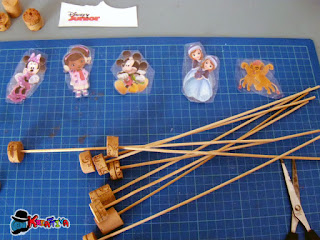 marionette con personaggi disney