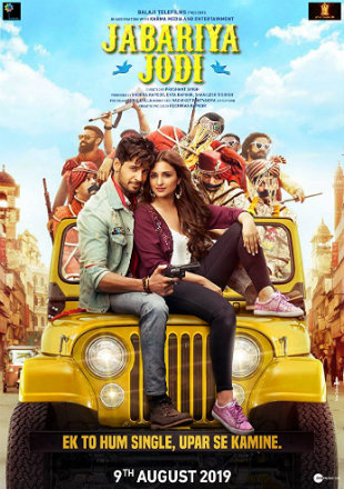 Jabariya Jodi 2019 Full Hindi Movie Download HDRip 720p