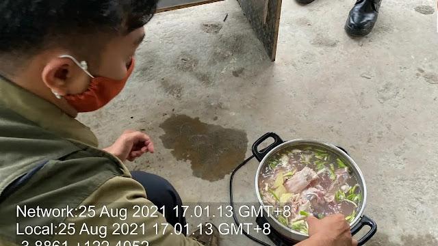 Viral TKA Cina Bantai Buaya di Konawe, BKSDA Amankan Panci Berisi Sup Daging Buaya