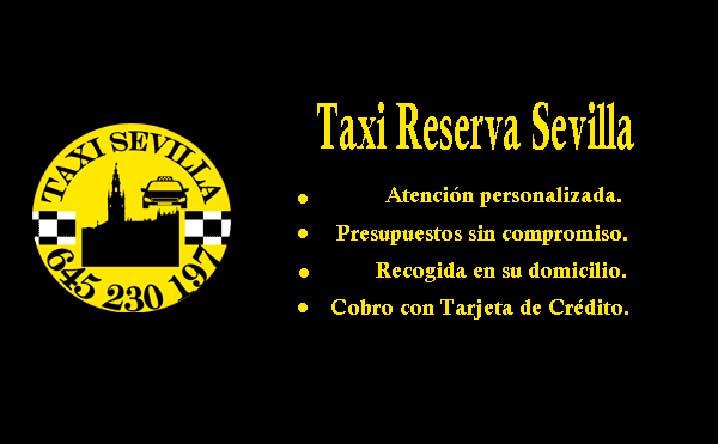 reservar taxi sevilla