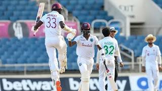 West Indies vs Pakistan 1st Test 2021 Highlights