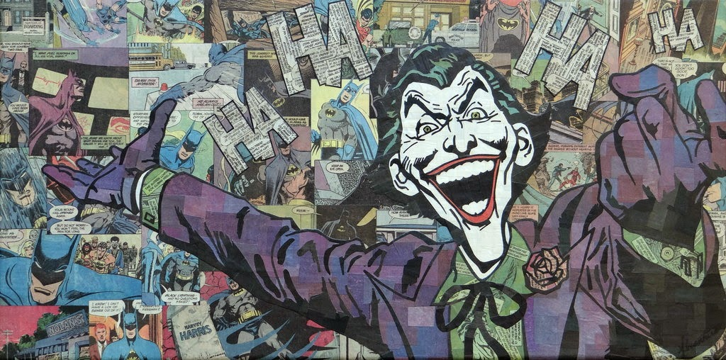 09-Joker-Mike-Alcantara-Comic-Collage-Art-www-designstack-co
