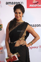 Sindhu looks fabulous in Black Saree designer choli at Mirchi Music Awards South 2017 ~  Exclusive Celebrities Galleries 042.JPG
