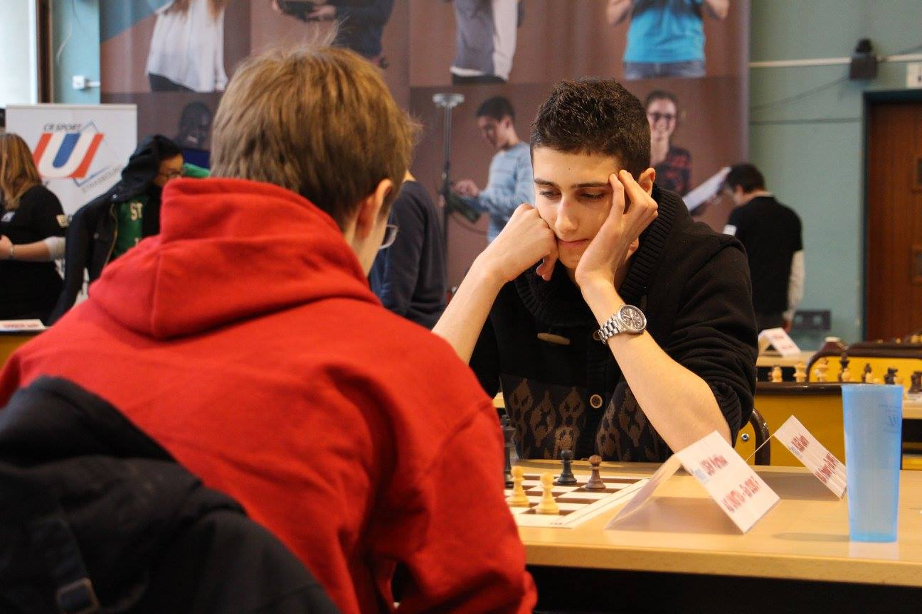 Le championnat de France universitaire d'échecs 2016 © site officiel