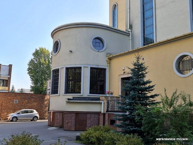 Warszawa Warsaw Targówek Annopol kościół Wysockiego 8 architektura architecture