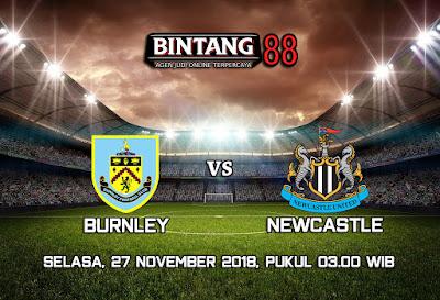Prediksi Burnley Vs Newcastle United 27 November 2018