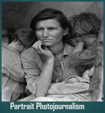 Types of Photojournalism- Portrait Photography