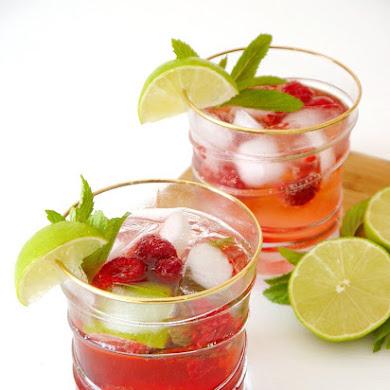 Recette Cocktail Mojito aux Framboises