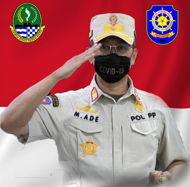 Satpol PP Jabar  Lakukan Patroli Masker Dan  Launching  SiCapLang Di Pangandaran