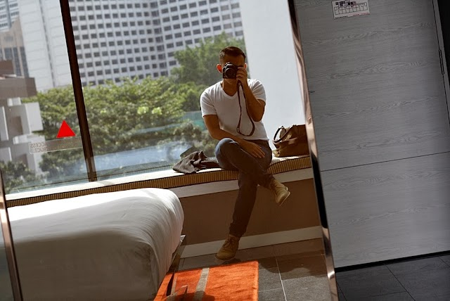 ARRIVED AT QUINCY HOTEL SINGAPORE