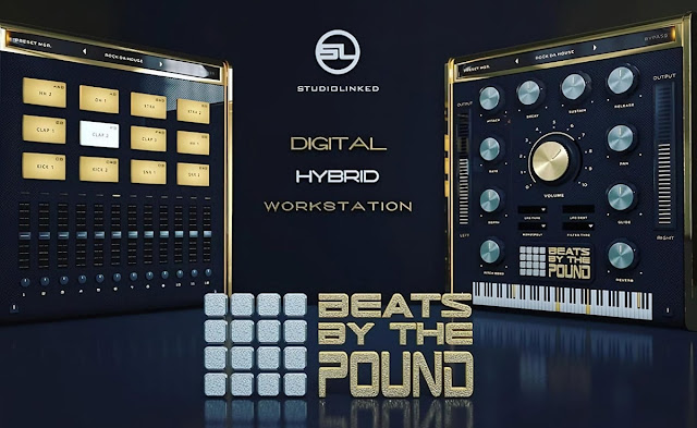 Interface do plugin StudioLinked - Beats By The Pound 1.0