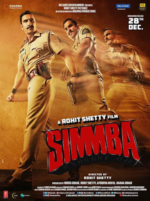 Simmba 2018 Full Movie Download in 720p HD