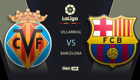 Barcelona vs. Villarreal EN VIVO: mira en TV partido con Messi por LaLiga