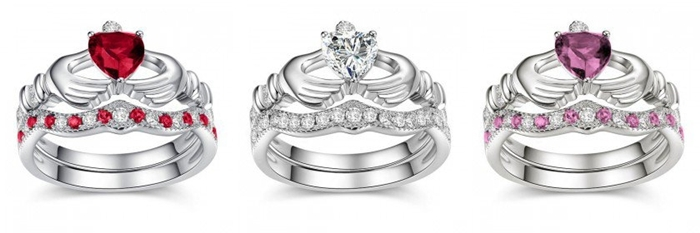 http://www.jeulia.com/rings/claddagh-rings.html