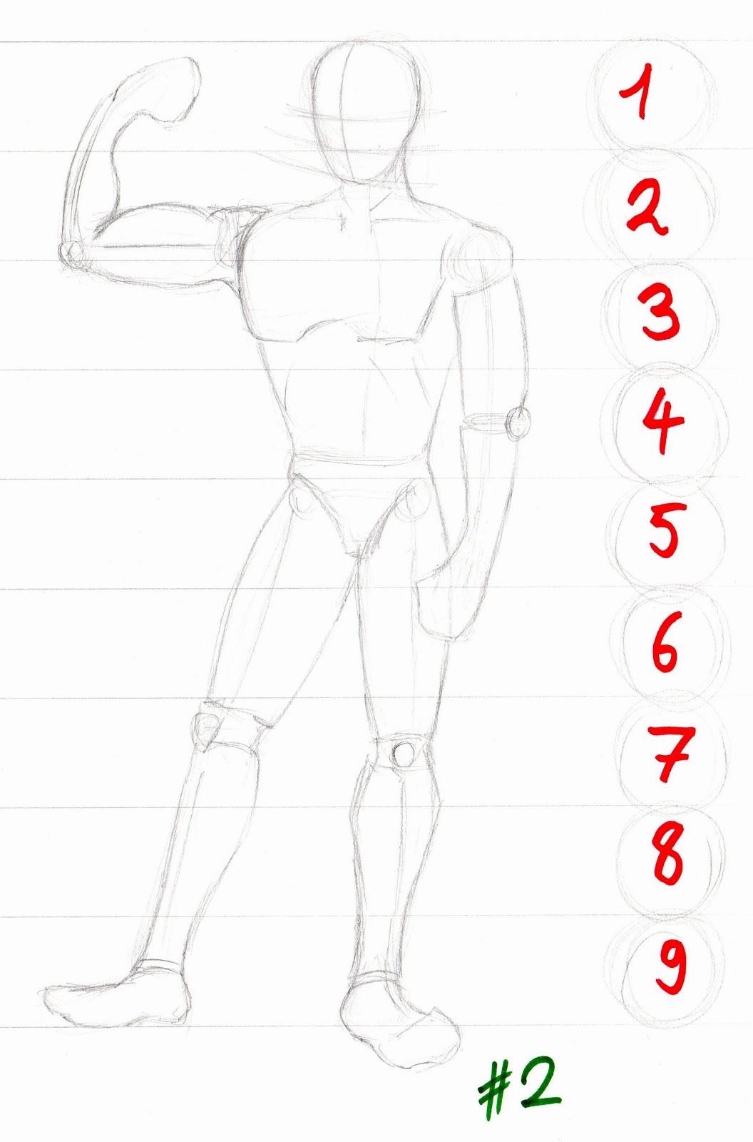 menschliche figuren zeichnen
