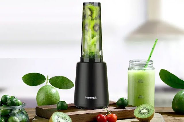 Homgeek Personal Mini Blender Smoothie Maker review
