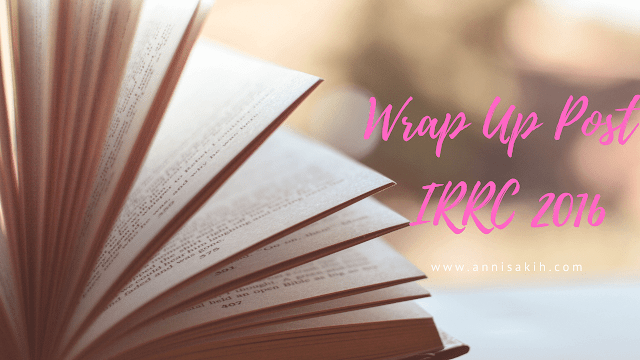 [Warp Up Post] Indonesian Romance Reading Challenge 2016