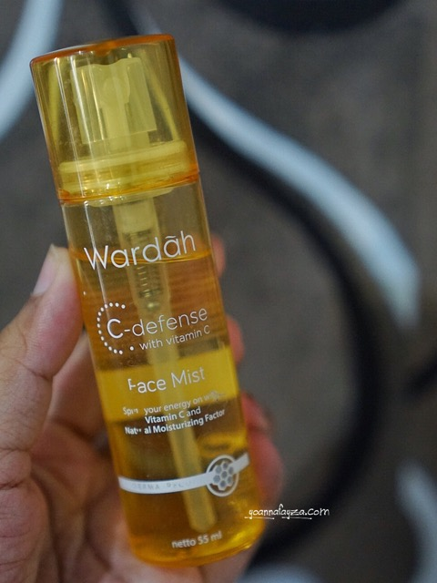 wardah c-defence face mist