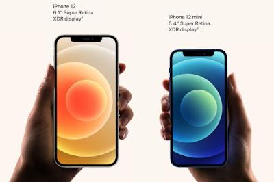 iPhone 12 dan 12 Mini