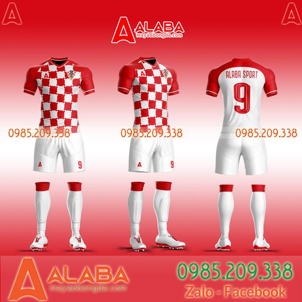 Áo Croatia đỏ