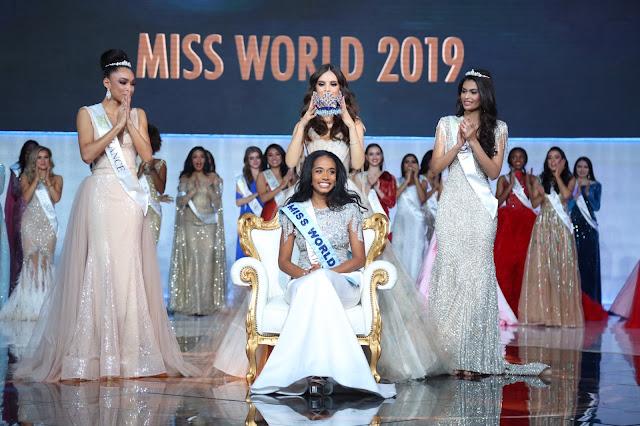 Ratu Jamaica Dinobatkan Sebagai Miss World 2019