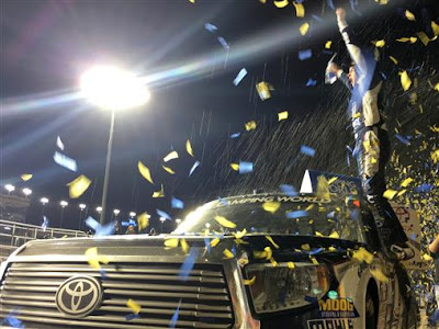 William Bryon Sunoco Rookie of the Year in the NASCAR Camping World Truck Series.