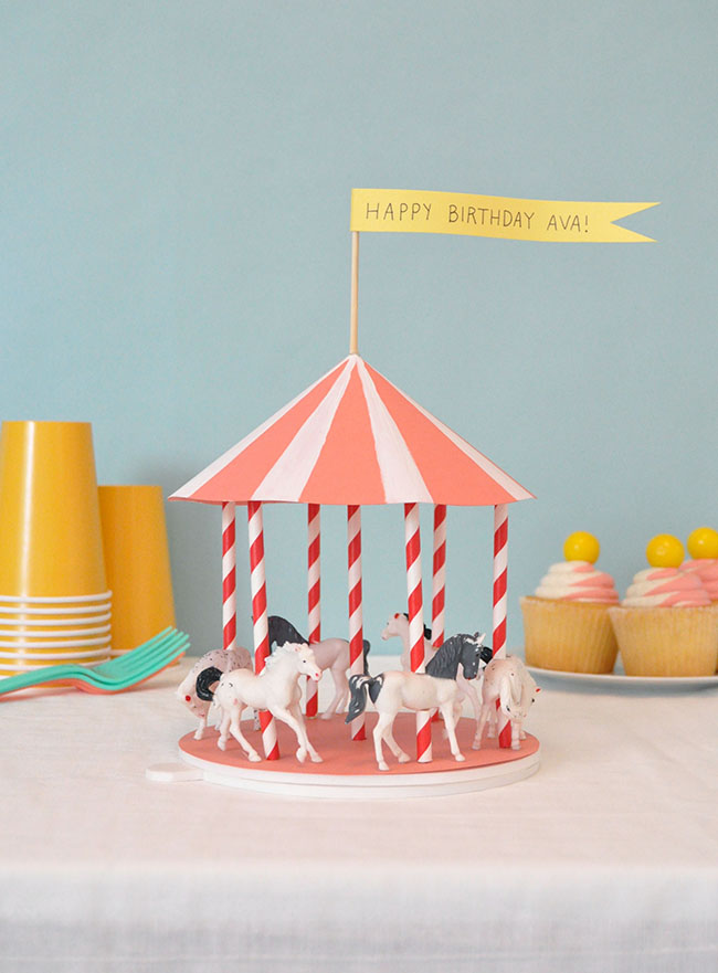 Spinning Carousel Centrepiece