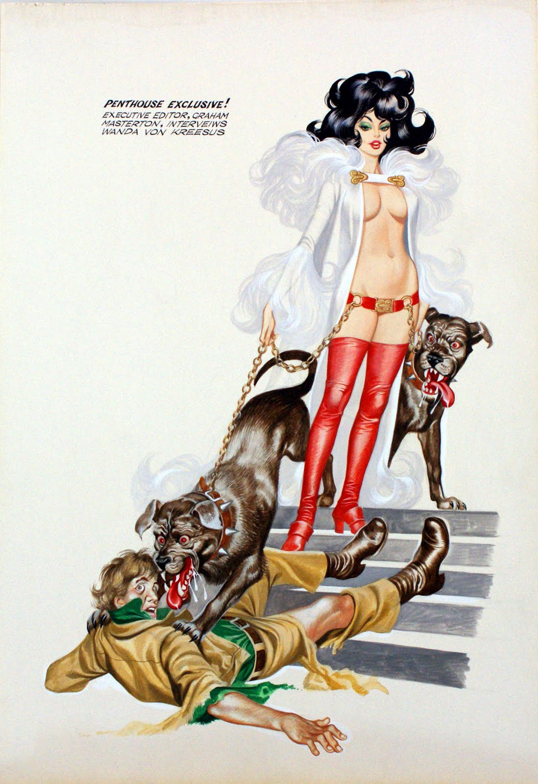 Art Comic Strip Porn - Whilst Harvey Kurtzman and Will Elder were working flat out every month to  produce a full color and lavishly painted soft porn comic strip titled  Little ...