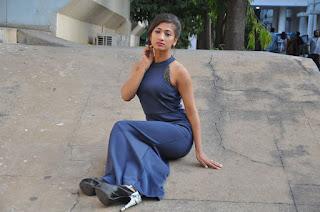 Actress Geethika Hot Stills At Desire Web Series Press Meet