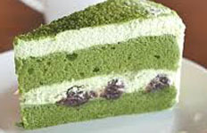 Resep praktis (mudah) kue green tea cake spesial (istimewa) enak, legit, sedap, nikmat lezat