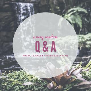 Five Random Questions