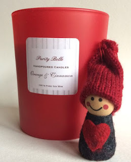 Orange & Cinnamon Soy Candle by Purity Belle Candles