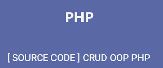 Source Code CRUD OOP php Sederhana Simple