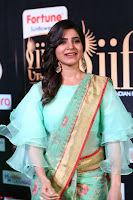 Samantha Ruth Prabhu Smiling Beauty in strange Designer Saree at IIFA Utsavam Awards 2017  Day 2  Exclusive 35.JPG