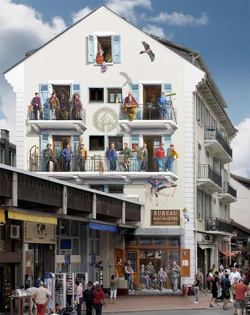 gambar lukisan 3d pada bangunan paling keren dan paling menakjubkan di dunia-13