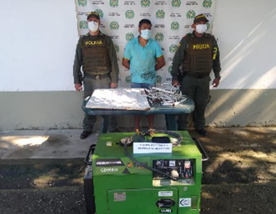 https://www.notasrosas.com/En Curumaní y Valledupar, Policía Cesar captura dos personas por el Delito de Hurto
