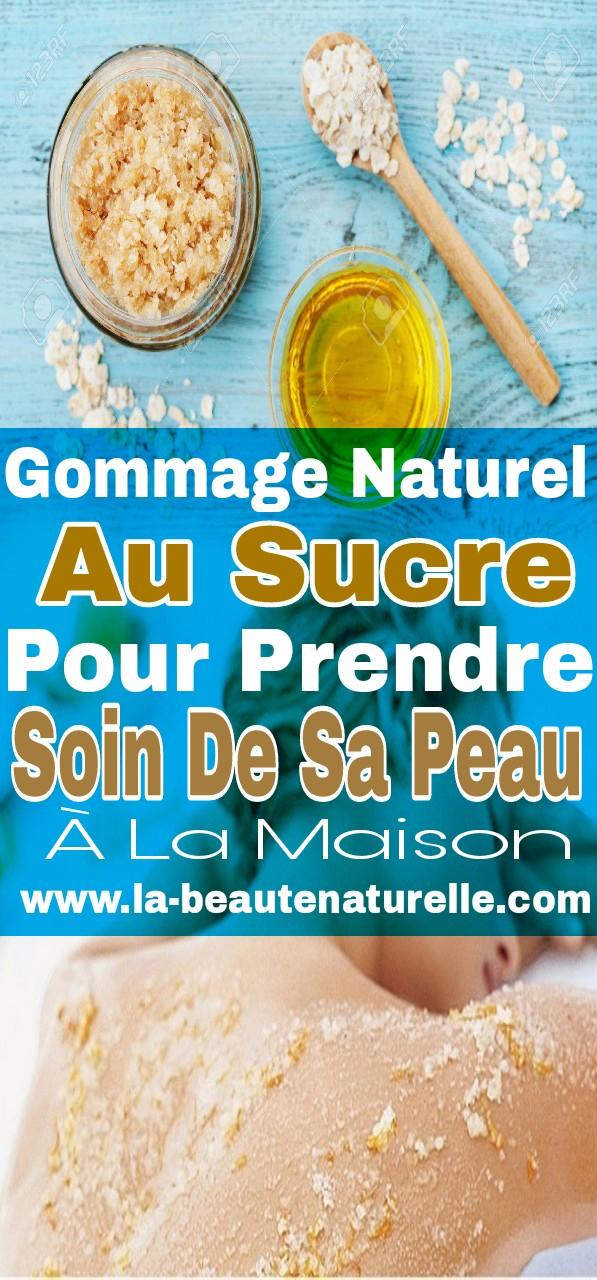Gommage naturel au sucre pour prendre soin de sa peau à la maison