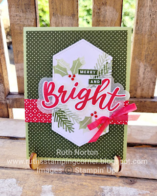 stampin up, peace and joy