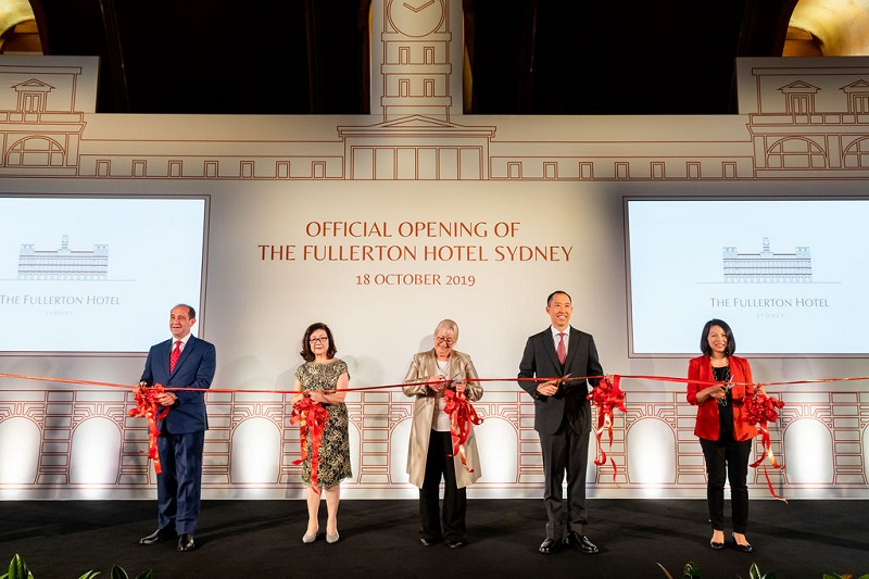 The Fullerton Hotel Sydney Official Opening