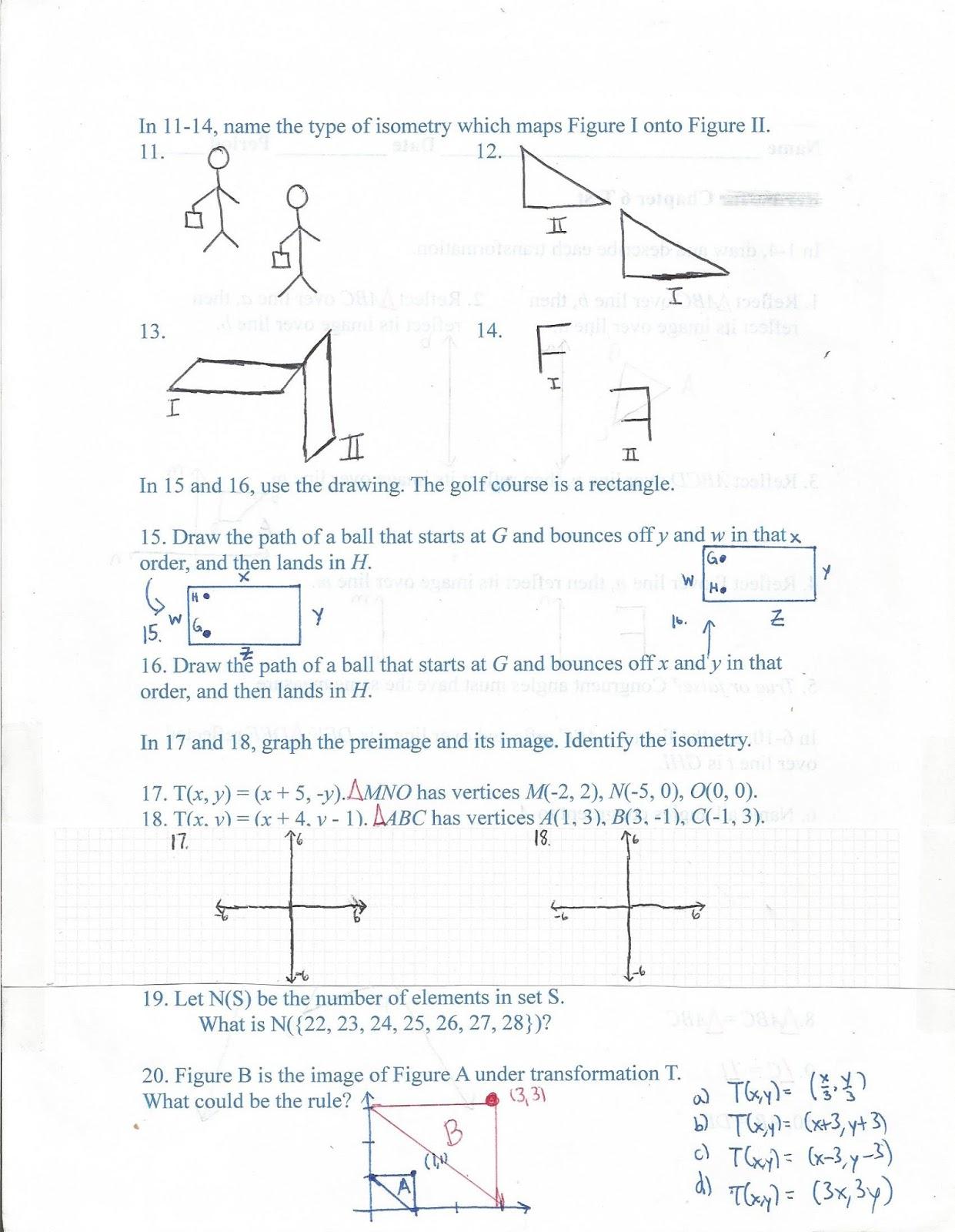 Geometry Common Core Style