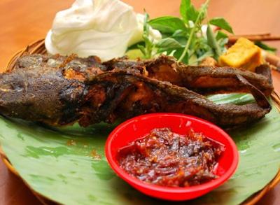 pecel lele makanan khas indonesia
