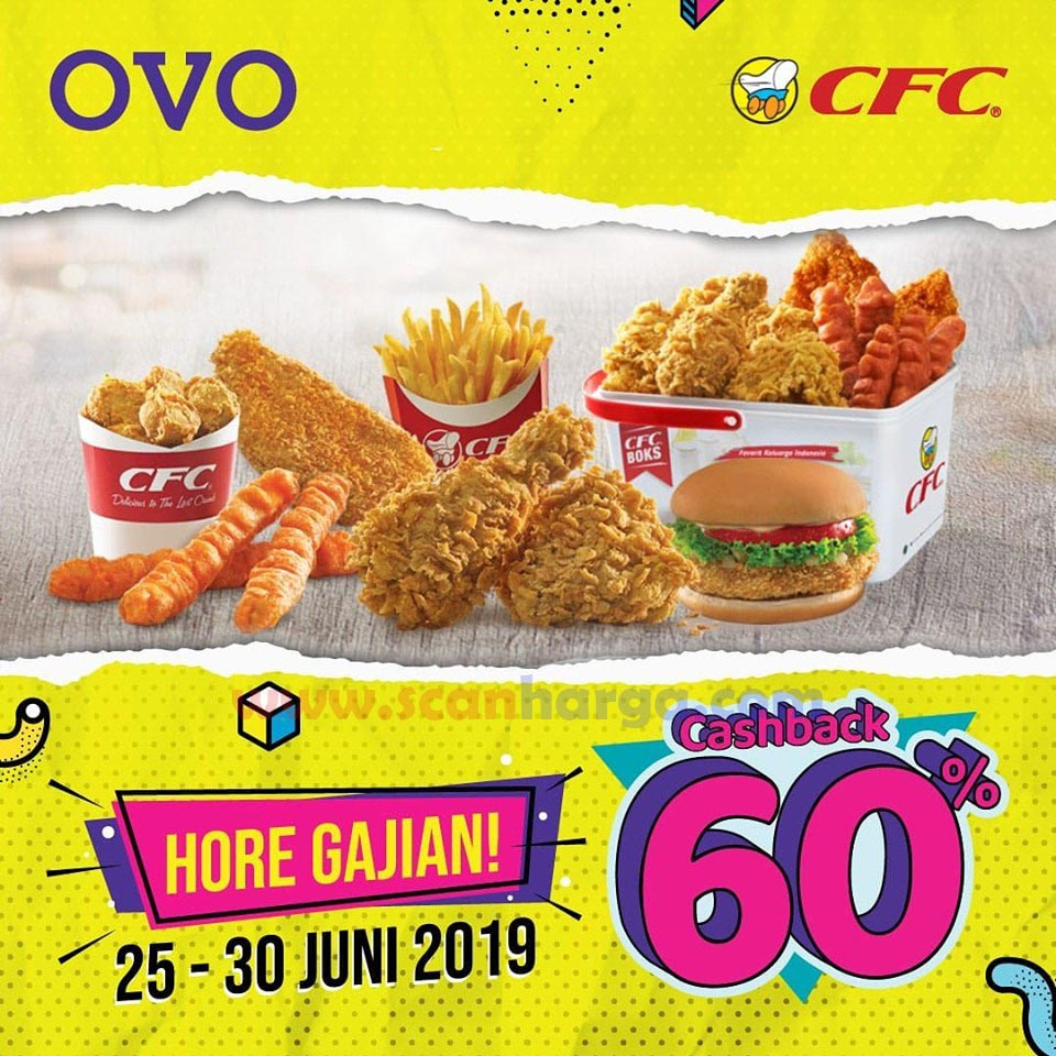Promo CFC Hore Gajian Cashback 60%