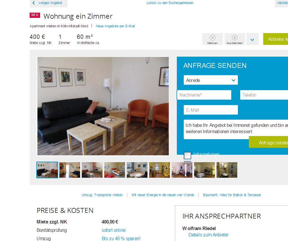 Wolfram rledel wohnung ein for Einzimmerwohnung einrichtungsbeispiele